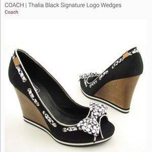 Looking for these Coach Wedges Size 5!